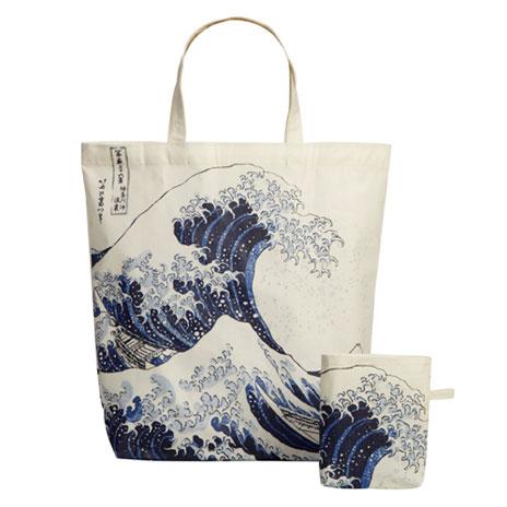 Fuji Wave packable bag