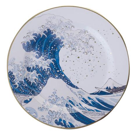 Fuji Wave tin plate