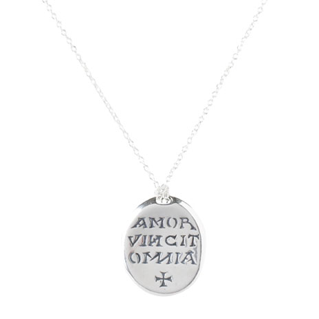 Love Conquers All necklace