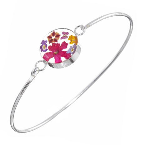Hathaway floral single bracelet