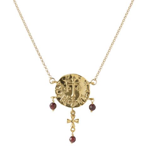 Sutton Hoo garnet necklace