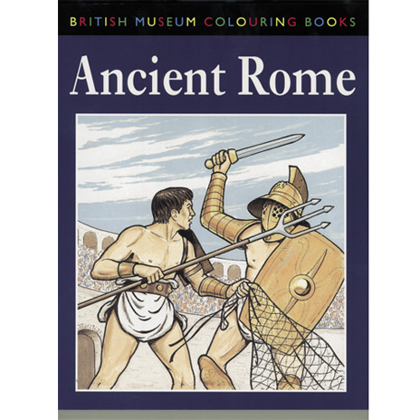 Ancient Rome Colouring Book