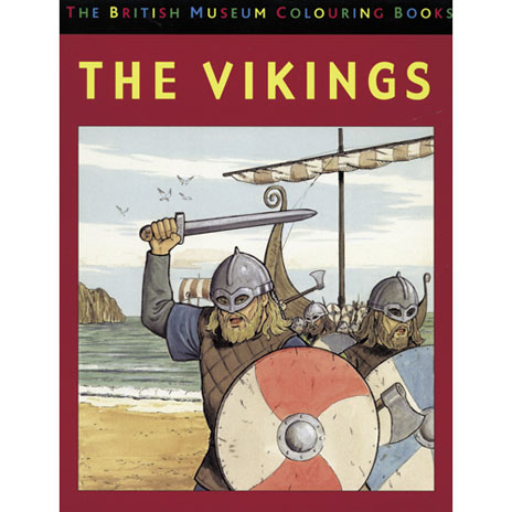 Vikings Colouring Book