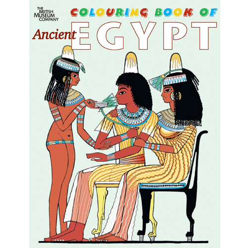 Ancient Egypt Colouring Book