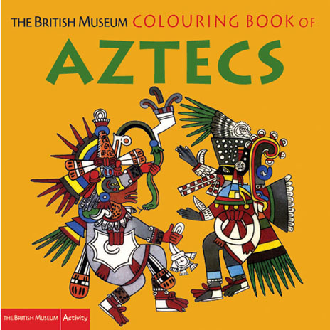 Aztecs Colouring Book