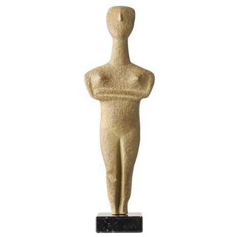 Cycladic Idol replica