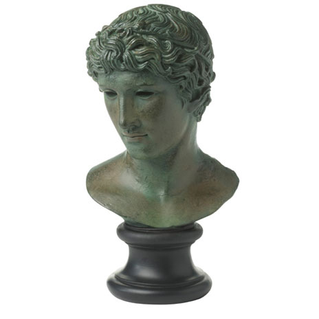 Head of a Victorious Athlete replica