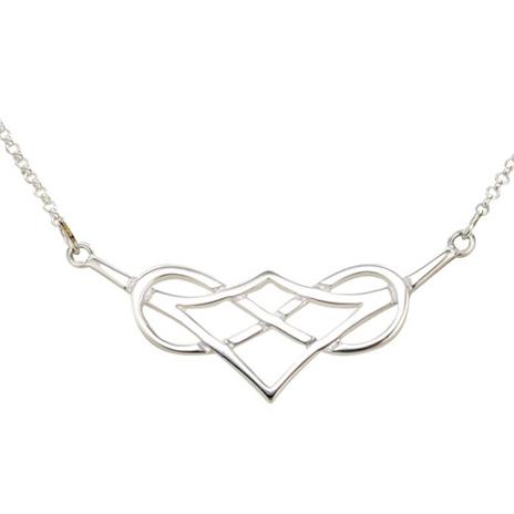 Celtic Heart Knot necklace