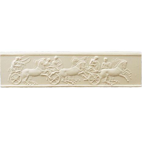 Parthenon Charioteers Panel miniature