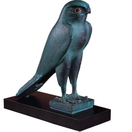 Egyptian Falcon replica