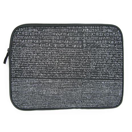 Rosetta Stone laptop sleeve