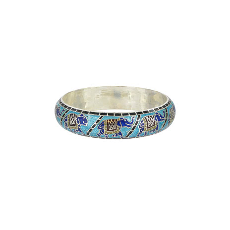 Elephant motif bangle (British Muse...