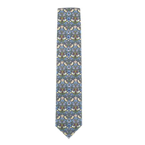 William Morris tie (Strawberry Thief)