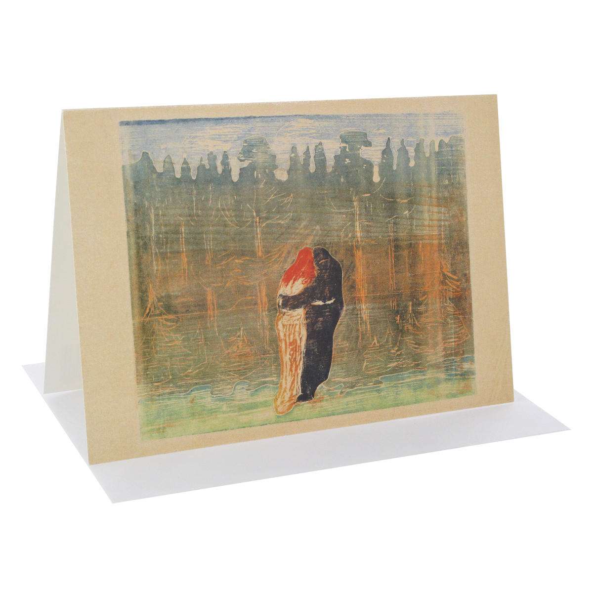 Towards the Forest II greeting card