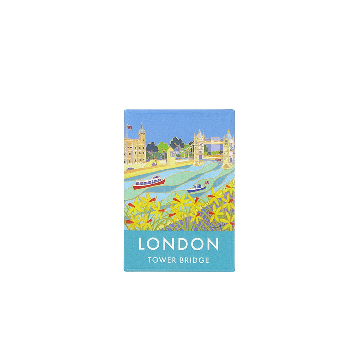 Tower Bridge poster magnet
