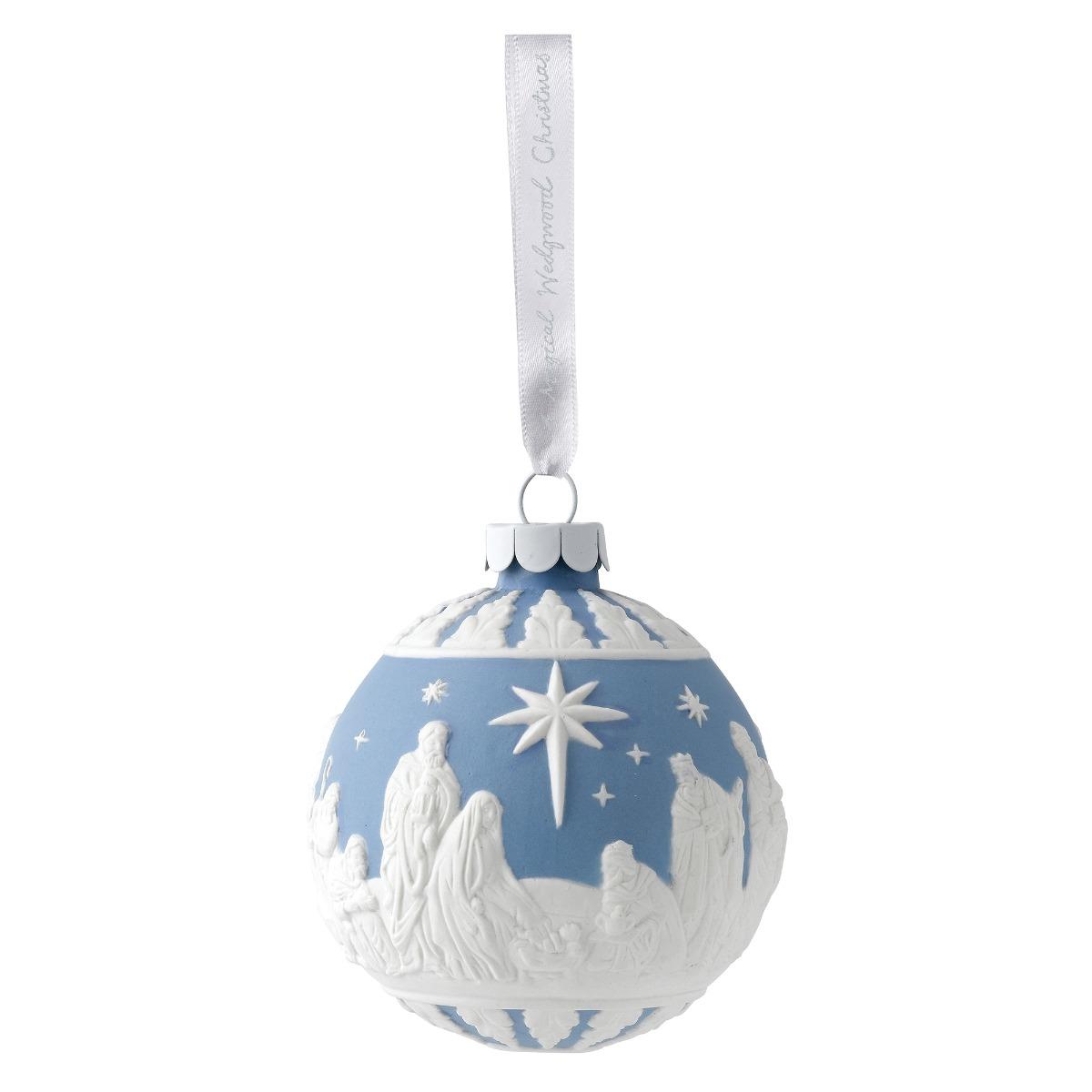 Wedgwood nativity decoration