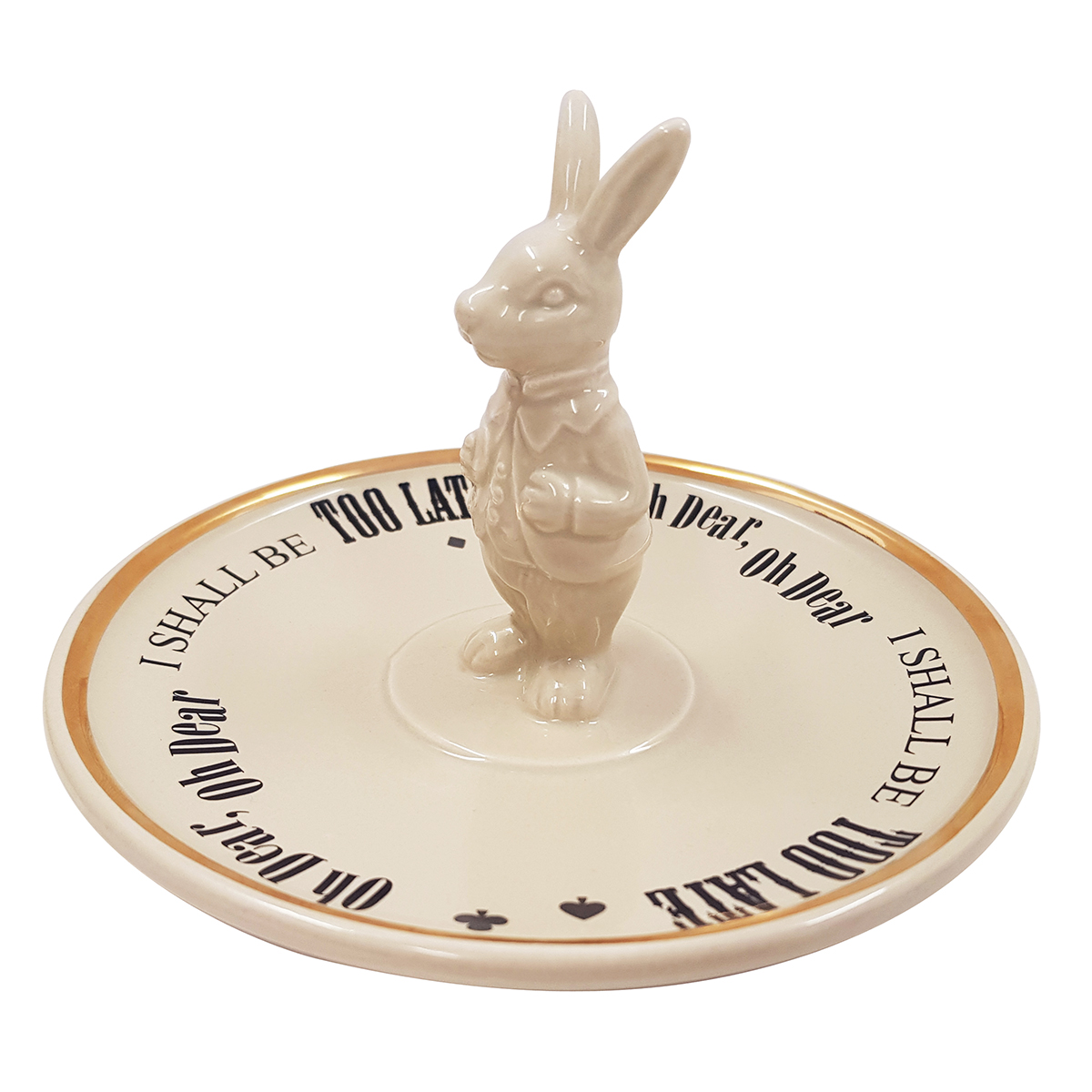 White Rabbit trinket dish