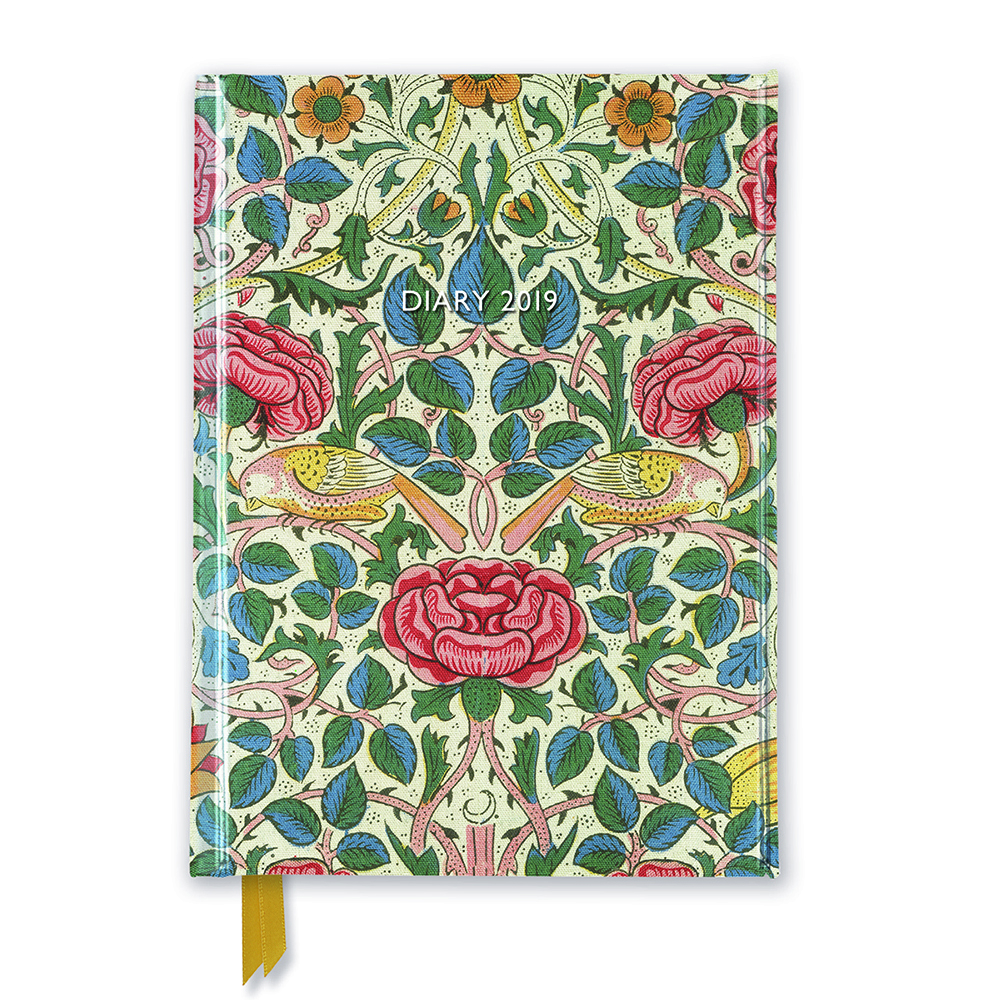 William Morris 2019 diary