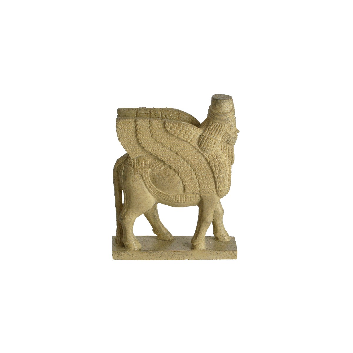 Winged Bull mini replica